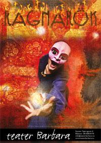 Ragnarok Affisch - Teater Barbara