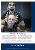 Sagen om Perseus Affisch - Teater Barbara