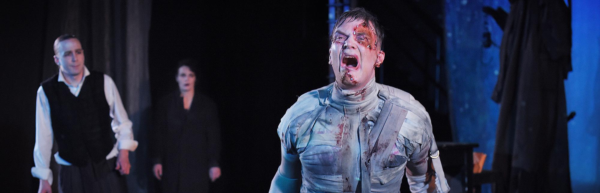 Turnéstart av Frankenstein med föreställningar i Stockholm!