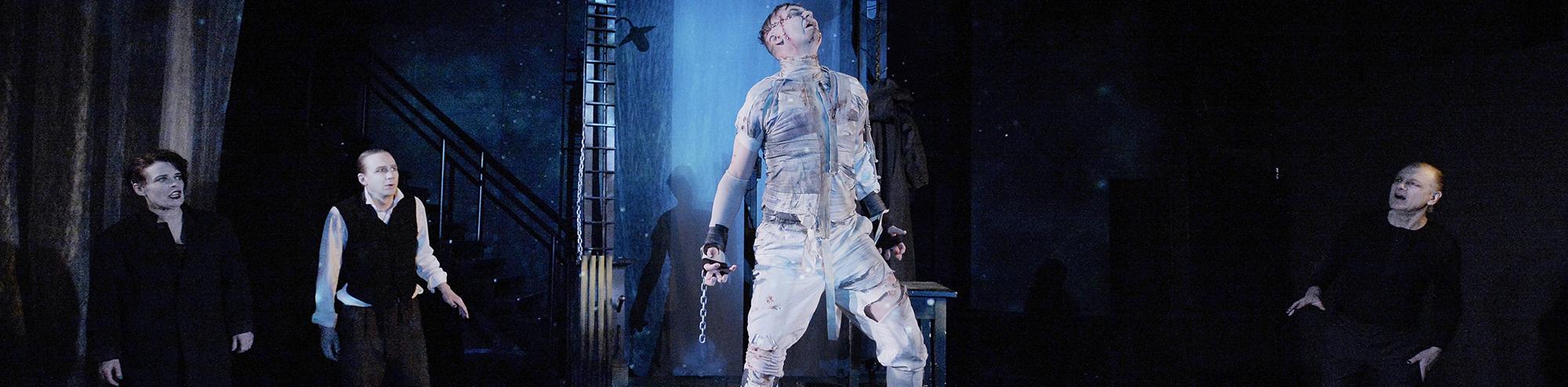 Frankenstein på turné!